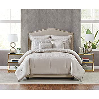 Image of 5th Avenue Lux Riverton Luxury 7 Piece Comforter Set, King Home and Kitchen
