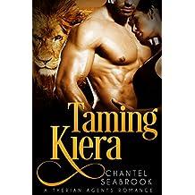 Taming Kiera (Therian Agents Book 3) (English Edition)