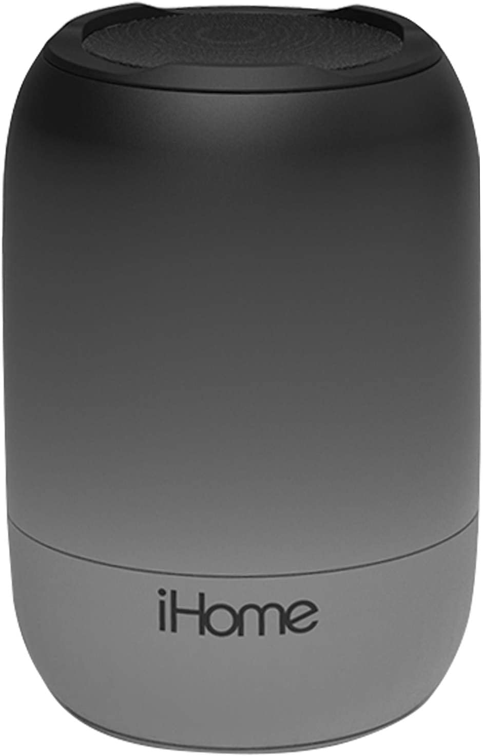 iHome PlayFade Portable Bluetooth Speaker - Water-Resistant Rechargeable Audio Device for Outdoor Events, Pool Party, Beach, Camping (Model iBT400B) Black