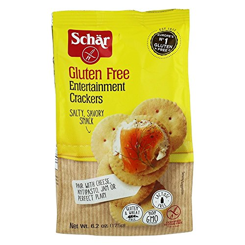 SCHAR CRACKER GF ENTERTAINMENT, 6.2 OZ [3 PACK]
