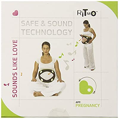 Nuvo Ritmo Pregnancy Sound System, Black