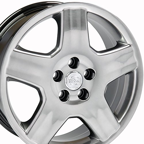 18x7.5 Wheel Fits Lexus, Toyota - LS 430 Style Hyper Black Rim, Hollander 74179 (Alloy Lexus Ls430 Wheel)