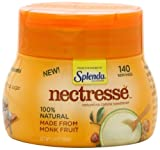 NECTRESSE Natural No Calorie Sweetener, 140 Serving Canister, 5.9 Ounce