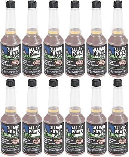 Alliant Power ULTRAGUARD Diesel Fuel Treatment – 12 Pack of Pints # AP0501
