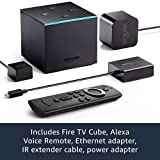 Fire TV Cube, hands-free with Alexa built in, 4K