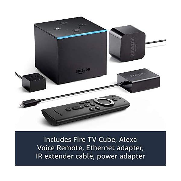 Fire TV Cube | Hands-free streaming device with Alexa | 4K Ultra HD | 2019 release 5