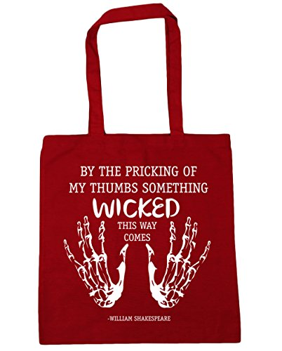 10 wicked Bag of Red Tote Gym Classic 42cm thumbs litres the Beach comes way this HippoWarehouse my something pricking By x38cm Shopping 1q0ptZU