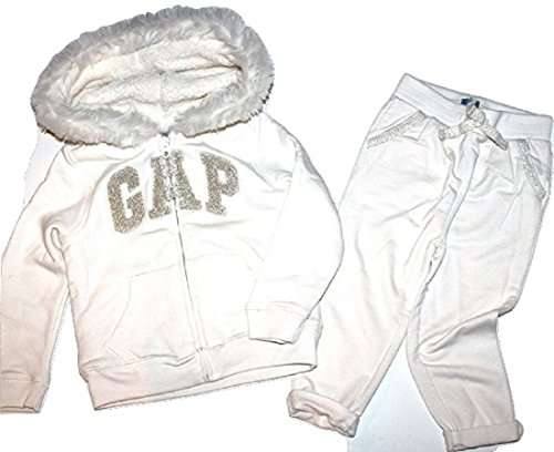 baby-gap-girls-ivory-outfit-set-fur-trim-sherpa-lined-ivory-hoodie-pants-3t