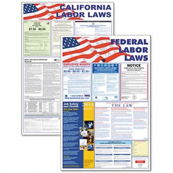 Federal Poster Packs - Advantus® State/Federal Labor Law Poster Combo Pack POSTER,LBRLAW STAT/FEDRL DPC15AP (Pack of2)