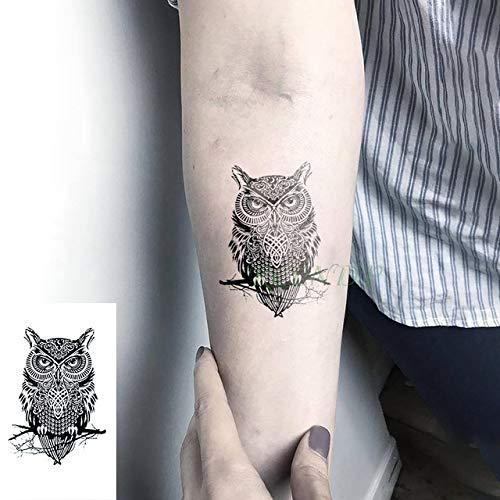 5pcs Impermeable del Tatuaje de la Mariposa Pegatinas Cráneo de ...