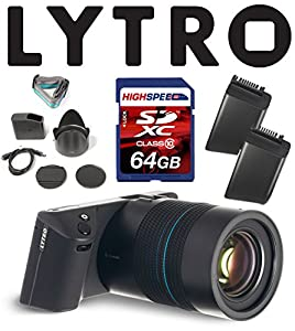 Lytro Illum Light Field Digital Cameras Bundle w/ 64GB, Lytro Battery B2-0022