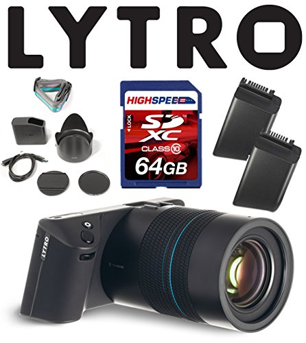 Lytro Illum Light Field Digital Cameras Bundle w/ 64GB, Lytro Battery B2-0022
