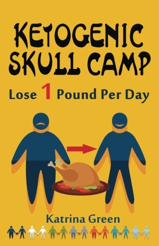 Ketogenic Skull Camp: Lose 1 Pound Per Day With Super Quick & Easy Ketogenic Recipes by Katrina Green