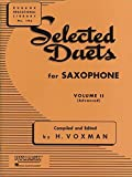 Selected Duets for Saxophone, Volume II: Advanced (Rubank Educational Library)