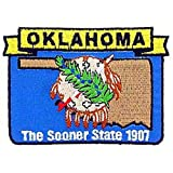 """Oklahoma State Map Patch 3"""""""
