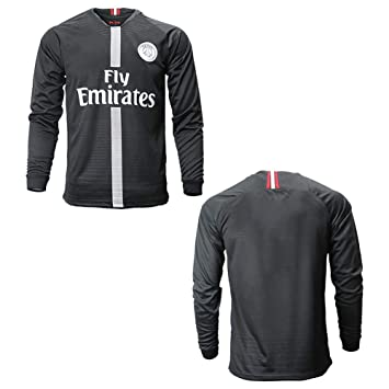 official photos b0428 ba515 Go-Fall 2019 Soccer Jersey Men's Long Sleeve France PSG Away ...