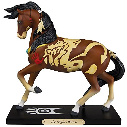 Enesco Unisex Trail of Painted Ponies The Night's Watch Statue No Color One Size