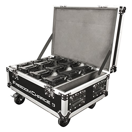 CHAUVET DJ Freedom Charge 9 Stage/DJ Light Rolling Road Case by CHAUVET DJ