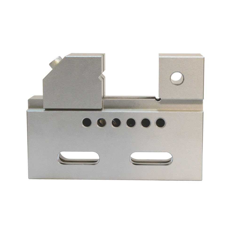 DBM IMPORTS High Precision 2'' Jaw Wire Cut EDM Vise HRC 55 .0002'' Toolmaker Stainless Steel Hardened Grinding Milling