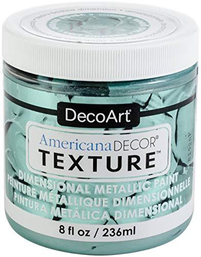 Americana Decor Texture Metallics 8oz-teal Green
