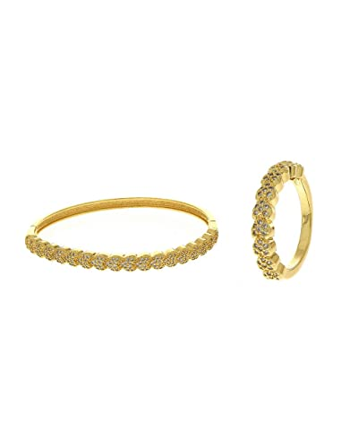 109b8a5465afb8 Buy Anuradha Art Gold Finish Simple & Stylish Wonderful Hand Kada/Bracelet  with Finger Ring for Women/Girls Online at Low Prices in India | Amazon  Jewellery ...