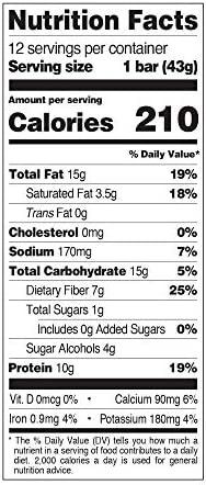 Quest Nutrition Sea Salt Caramel Almond Snack Bar, High Protein, Low Carb, Gluten Free, Keto Friendly, 12-Count 9