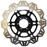 EBC Brakes (VR4132BLK) Black Vee-Rotors