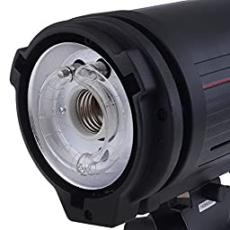 Neewer® Professional Photography Studio Strobe Flash Monolight, Dual Power AC/DC 110v 300W Flash with 150W Modeling Lamp and Rechargeable Battery Pack