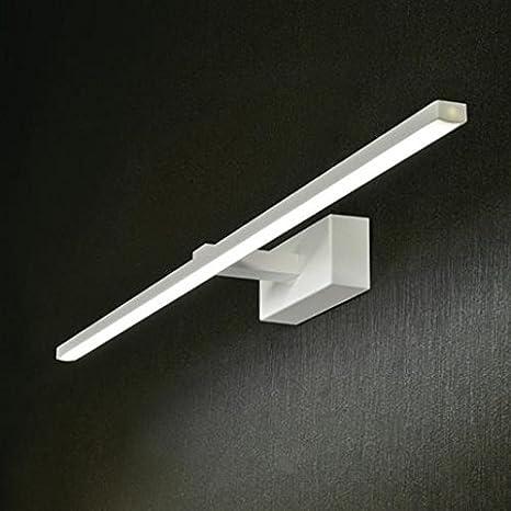 APPLIQUE LAMPADA LUCE DA SPECCHIO BAGNO LED 16W 3000K 67CM DESIGN ...