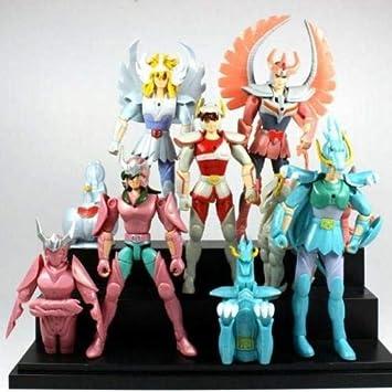 Saint Seiya PVC anime figure figures set of 5pcs  toys QT824 doll