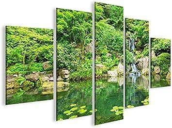 islandburner De Imágenes sobre Lienzo Zen Jardín Japonés MF XXL Póster Lienzo Cuadro de decoración salón Marca: Amazon.es: Hogar