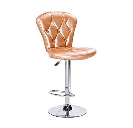 HJBD YAN Long Home Taburetes de Bar, sillón de Bar Giratorio ...
