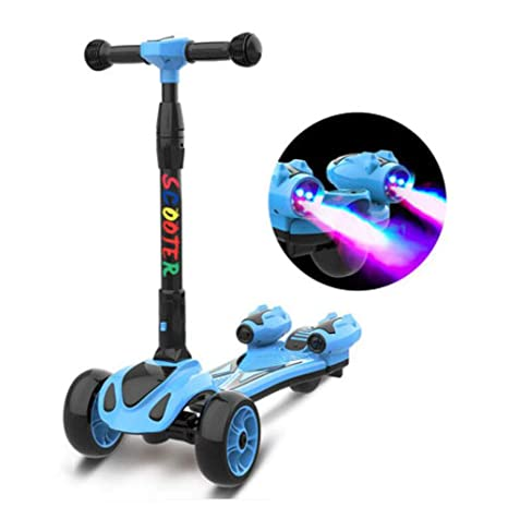 Amazon.com: Scooter para niños 3 ruedas Lean a Steer altura ...