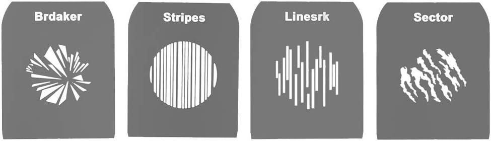 PIXAPRO GOBO Sets para proyector de Punto de snoot /óptico PiXAPRO EF//Mount
