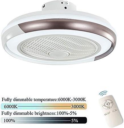 HGW Ventilateur de Plafond Silencieux lumière Dimmable avec
