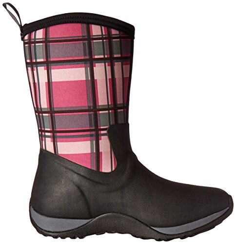Arctic Black Boot Extreme Weekend Conditions Plaid Pink Women's Sport Boot Muck qEW8cZq