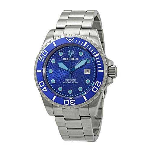 Deep Blue Dive Master 500 Swiss Automatic Blue Dial Men's Watch DM500BLUE