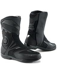 TCX 7137G Airtech Evo GTX Mens Street Motorcycle Boots - Black Size Eu 45 / Us 11