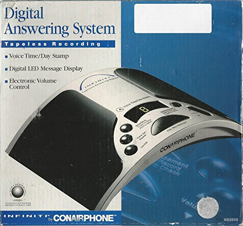 Infiniti by Conairphone Digital Answering System Tapeless (Conairphone Telephone)