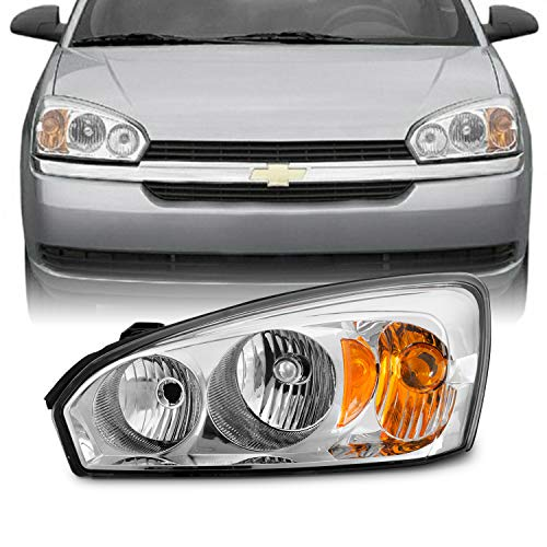 Fits 2004-2007 Chevy Malibu 2008 Malibu Classic Model [OE Style] Headlight Driver Left Side Headlamp