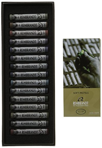 (Rembrandt 15 Full Pastel Dark Set)