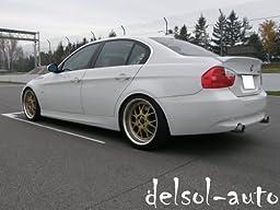 BMW 3 Series 4-door sedan OEM style Trunk Spoiler - Jerez Black Metallic- A73