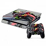 Mod Freakz Console and Controller Vinyl Skin Set - Motorcycle Racing for Playstation 4
