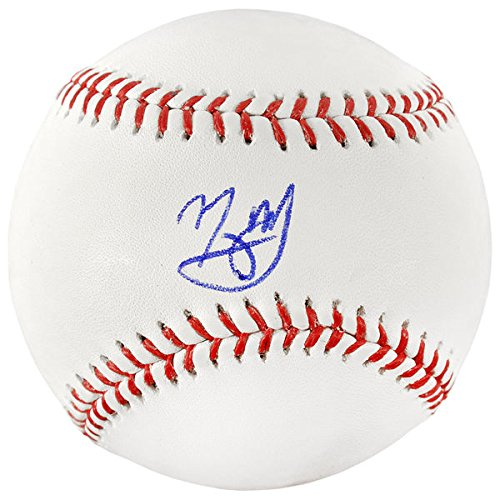MANNY MACHADO Baltimore Orioles Autographed Baseball FANATICS (Baltimore Signature Helmet)