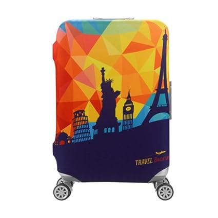 Spandex equipaje funda lavable Maleta cubierta Extracción-libre del equipaje del viaje del protector de