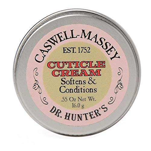 Caswell-Massey Dr. Hunter's Cuticle Cream - Natural Balm Promotes Healthy Nails , Nail Growth - 0.55 Ounces
