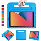 "LTROP New iPad 8th Generation Case, iPad 10.2 Case, iPad 7th Generation Case for Kids, iPad 10.2 2020 Kids Case Shockproof Light Weight Handle Stand Case for iPad 8th/ 7th Gen 10.2"" and Air 3 - Blue"