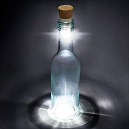 kiaral Botella Luz LED cierre reutilizables botellas luces 1 pieza
