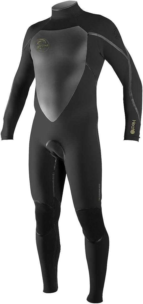 O'Neill Men's Heat 4/3mm Back Zip Full Wetsuit