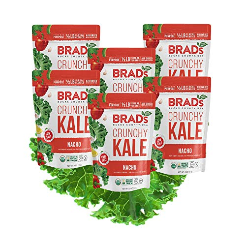Brad's Plant Based Organic Crunchy Kale, Nacho, 6 Count for sale  Delivered anywhere in USA
